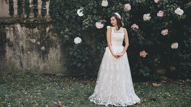 Sandra Haddad vjenčanice u romantičnoj bajci Vjerujete li u vile?